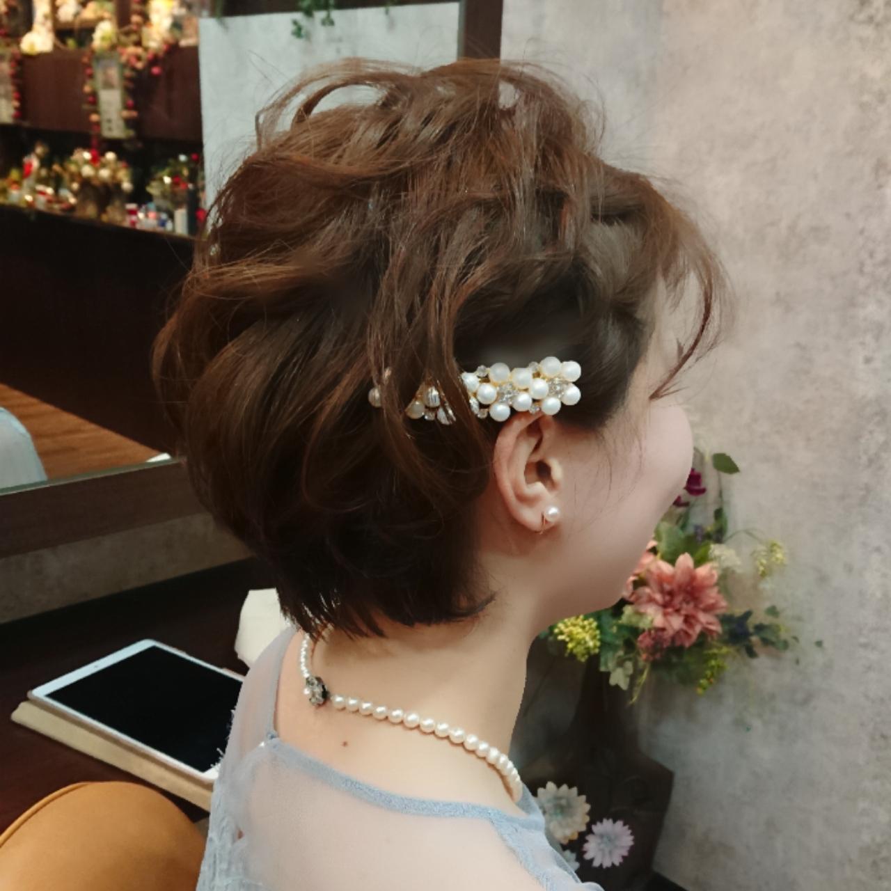 結婚式ヘアセット/ヘアアレンジ